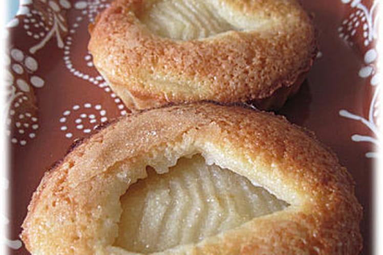 Tartelettes poires-amandes sans pâte