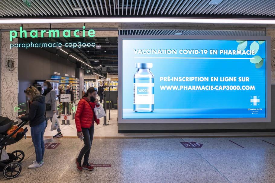 Vaccination Covid en pharmacie: rdv, éligibilité, conditions