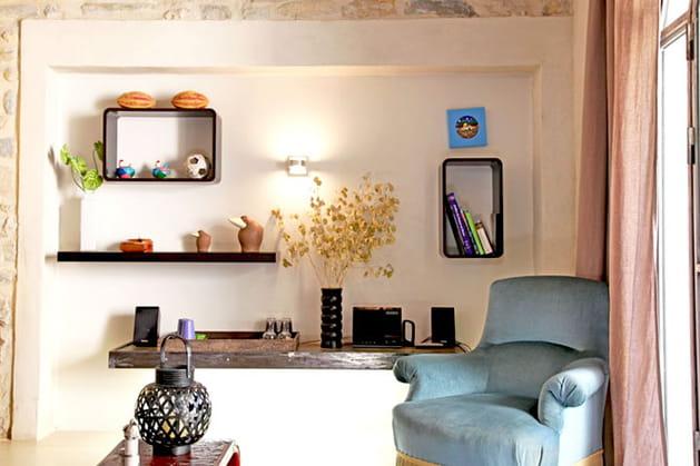 comme un tableau. Black Bedroom Furniture Sets. Home Design Ideas