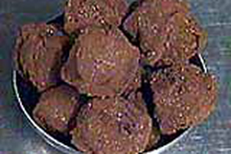 Truffes au chocolat ultra simples