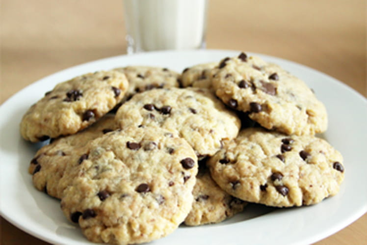 Cookies moelleux vanille-chocolat