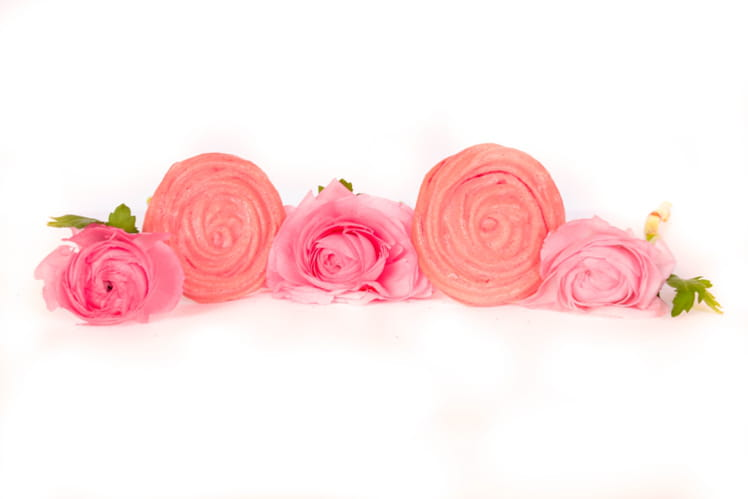 Meringue à la rose