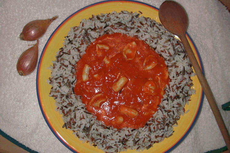 Chipirons à la tomate