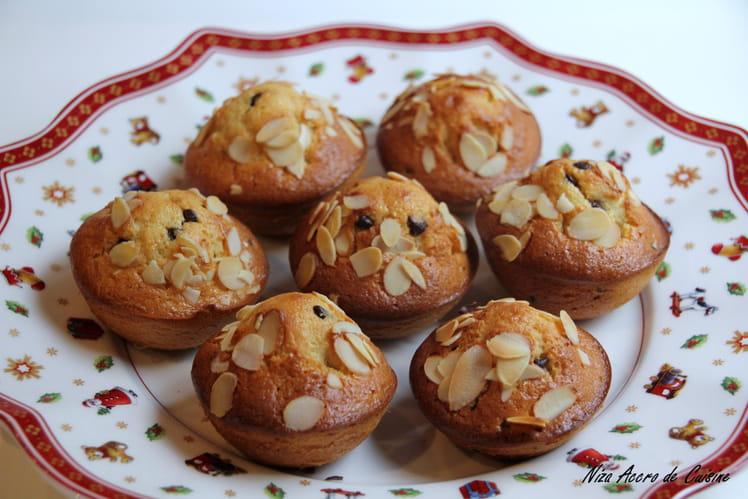 Petits cakes aux pépites de chocolat et citron