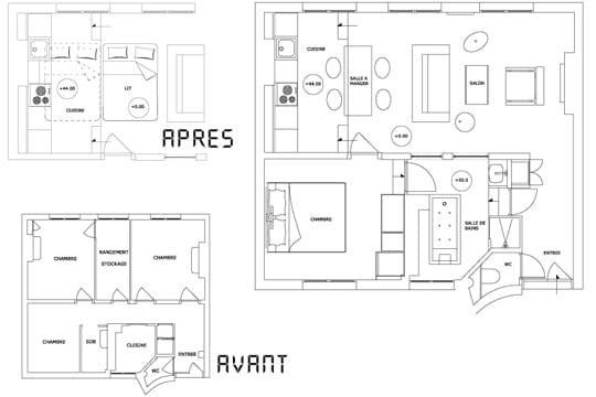 Plans appartement