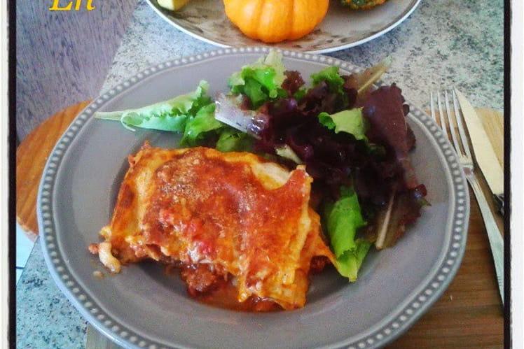 Lasagnes bolognèse boeuf et veau