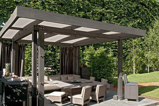 une pi ce en plus sur la terrasse. Black Bedroom Furniture Sets. Home Design Ideas