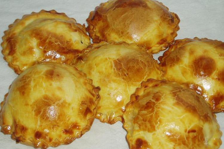 Chaussons endives-feta-jambon