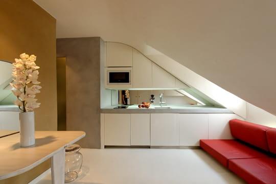 Cuisine design et minimaliste