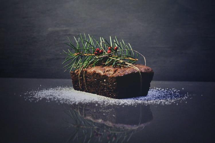 Pudding de Noël végétalien au chocolat et fruits secs