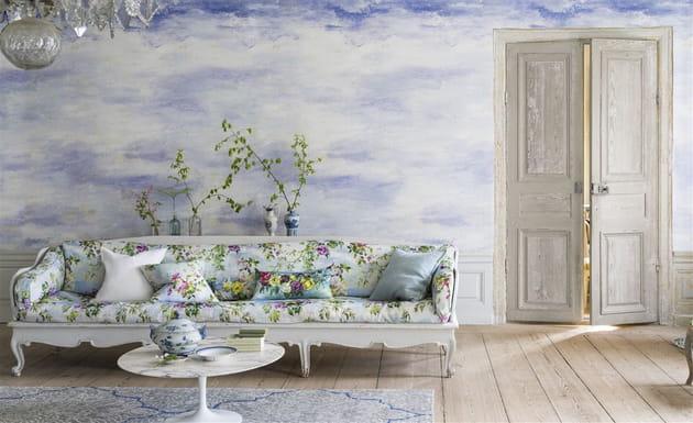 Papier peint Cielo Sky par Designers Guild chez La Maison Bineau