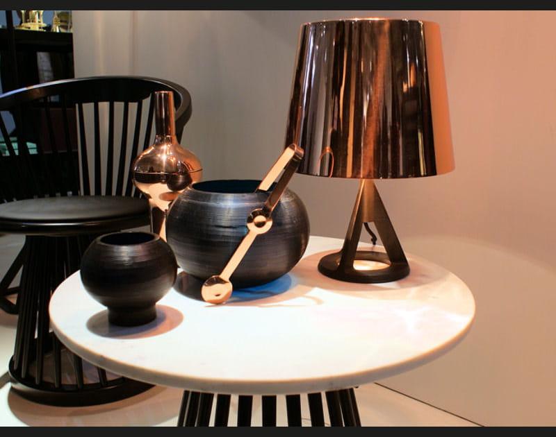 Lampe en cuivre de Tom Dixon