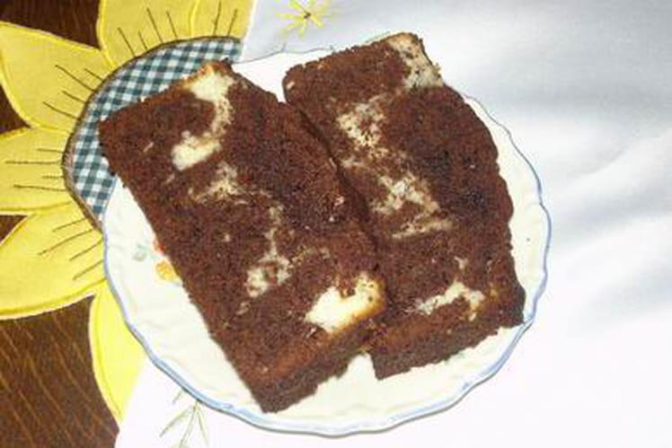 Gâteau chocolat-coco au mascarpone