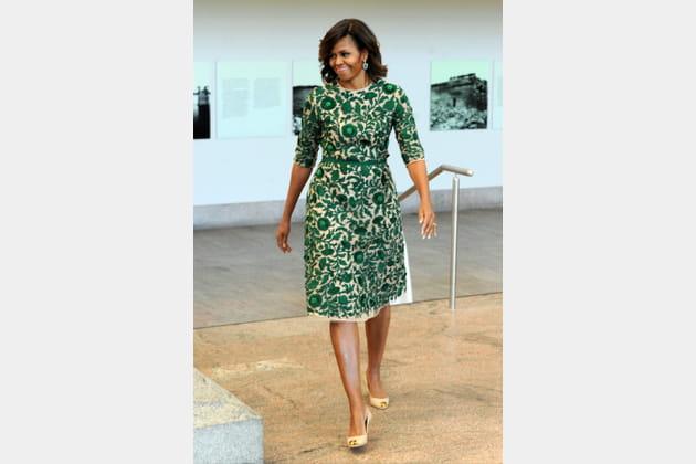 Michelle Obama le 5mai 2014