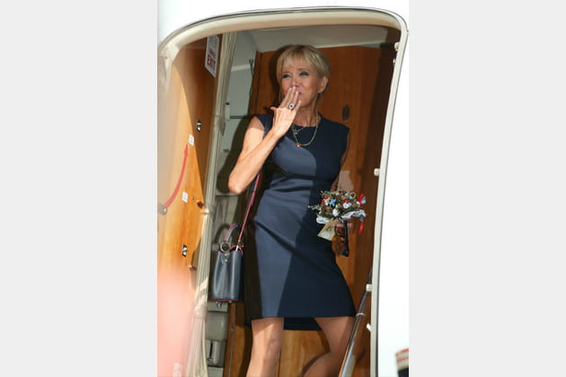 Brigitte Macron le 23août 2017