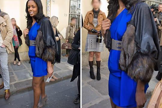 Fashion week : les street looks des défilés parisiens PAP automne-hiver 2011-2012 52