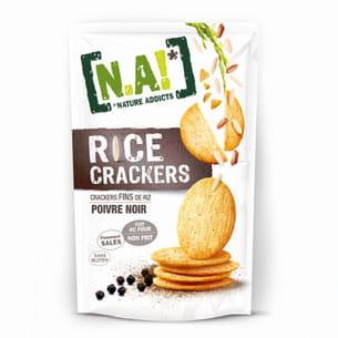 rice crackers au poivre noir de n.a!