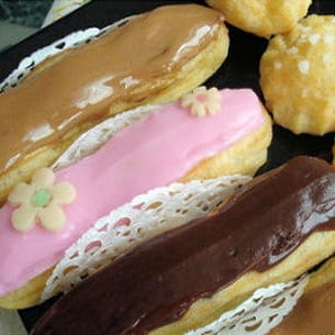 eclairs d'inspiration fauchon