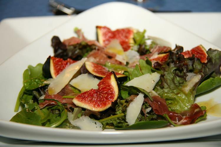 Recette de salade d 39 automne aux figues fraiches la - Cuisiner des figues fraiches ...