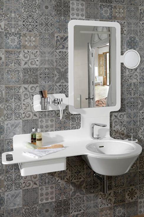 El ments pour salle de bains mood de porcelanosa for Faience salle de bain porcelanosa