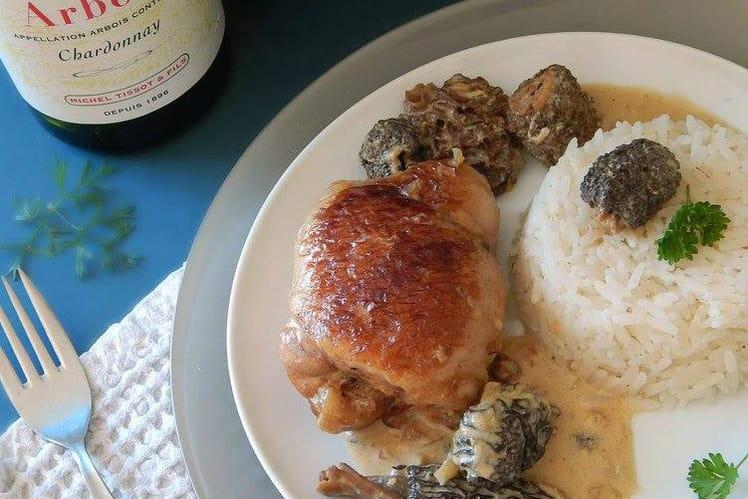Recette poulet aux morilles poulet - Cuisiner morilles sechees ...