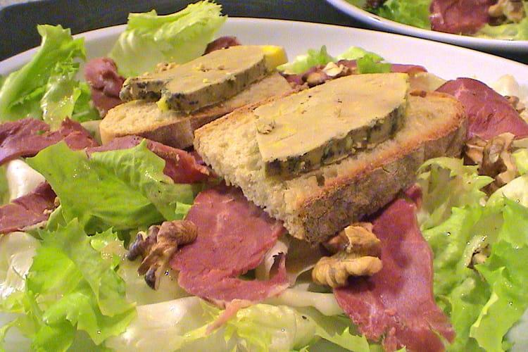 Salade périgourdine