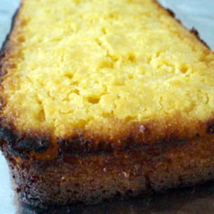 gâteau de polenta aux agrumes