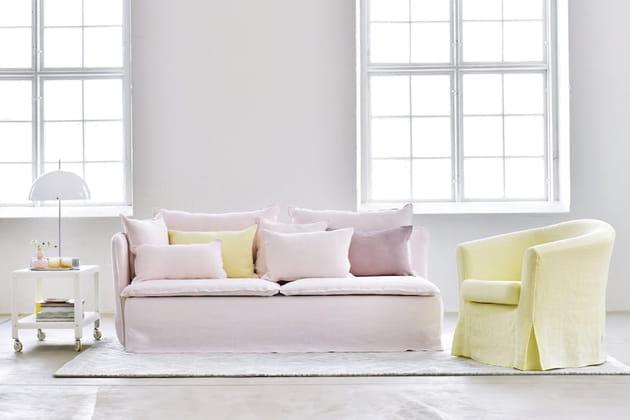 housse de canap designers guild chez bemz. Black Bedroom Furniture Sets. Home Design Ideas
