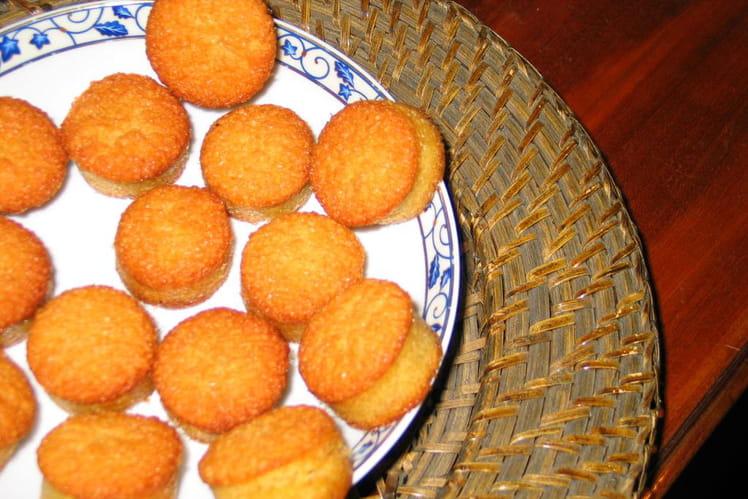 Petits moelleux aux amandes et au beurre salé