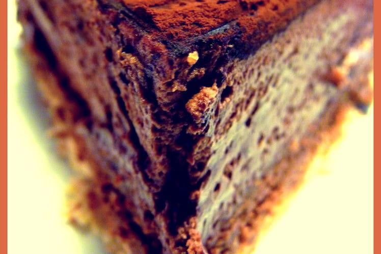 Trianon au chocolat et aux amandes