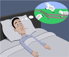 l'insomnie serait un facteur de risque d'hypertension.