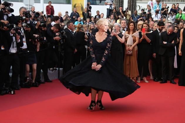 Helen Mirren, virevoltante