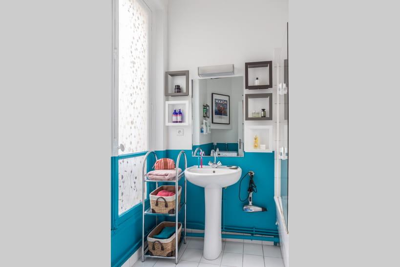vitez le total look bleu pour votre salle de bains