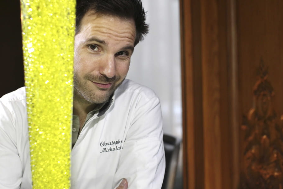 Christophe Michalak, rock star de la pâtisserie