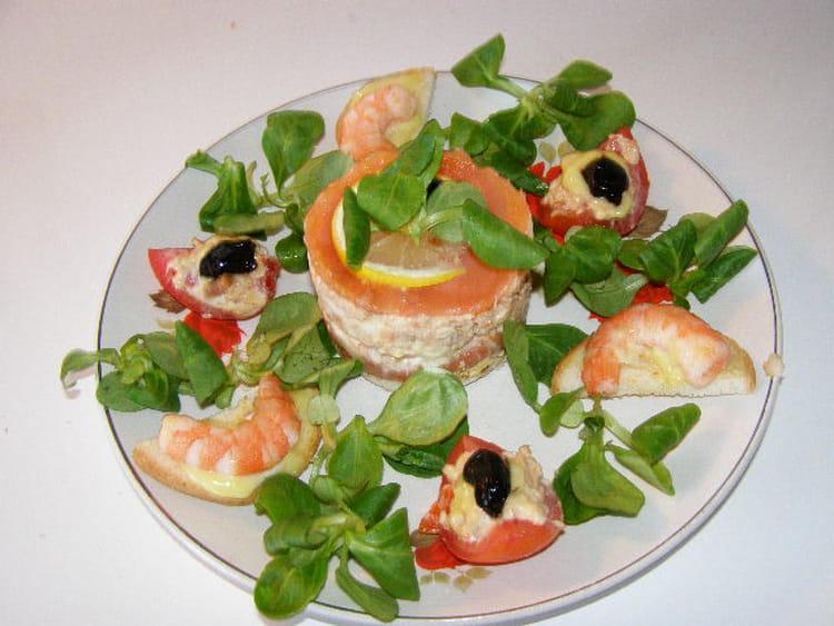 Recette assiette de fruits de mer la recette facile - Decoration de salade sur assiette ...