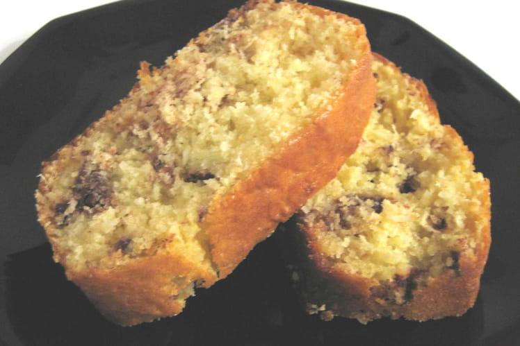 Gâteau au yaourt choco coco