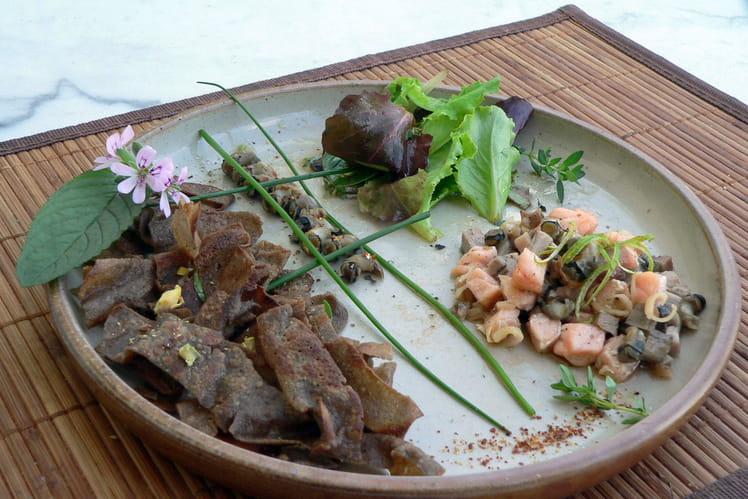 Assiette aux saveurs bretonnes