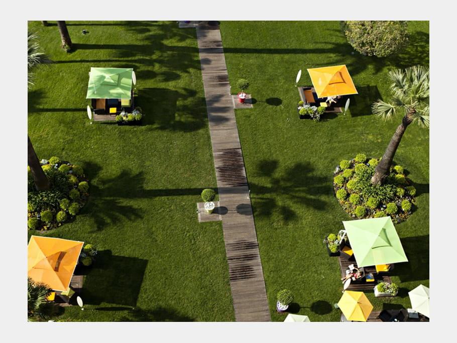 Les jardins du Grand Hotel