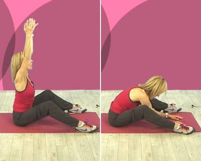 exercice 4 : les bras levés