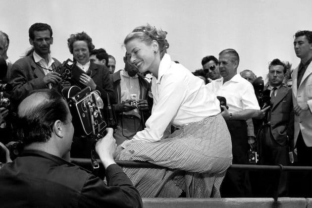 Ingrid Bergman, tout sourire