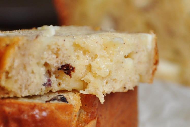 Cake triplement noisette au Sainte Maure