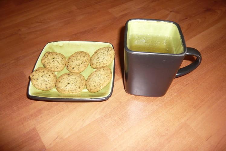 Biscuits au thé earl grey de Martha Stewart
