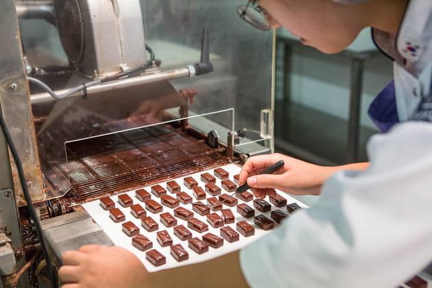 6tonnes de chocolats par an