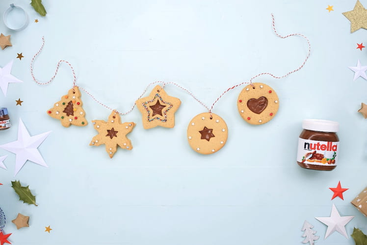 Biscuits de Noël au Nutella®