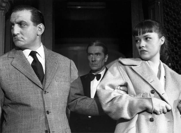 """Avec Jeanne Moreau dans """"Touchez pas au grisbi"""""""