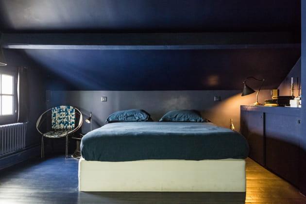 Une chambre bleue - Decoration chambre bleue ...