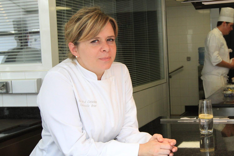 Christelle Brua, bientôt cheffe des cuisines de l'Elysée?