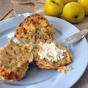 scones grumeleux pomme-cardamome