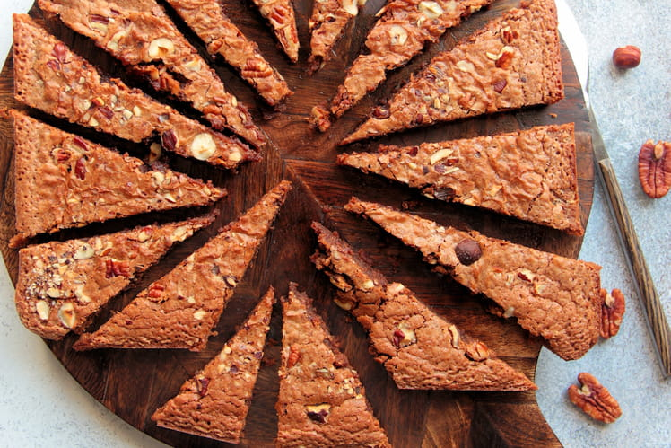 Gâteau fondant pralinoise