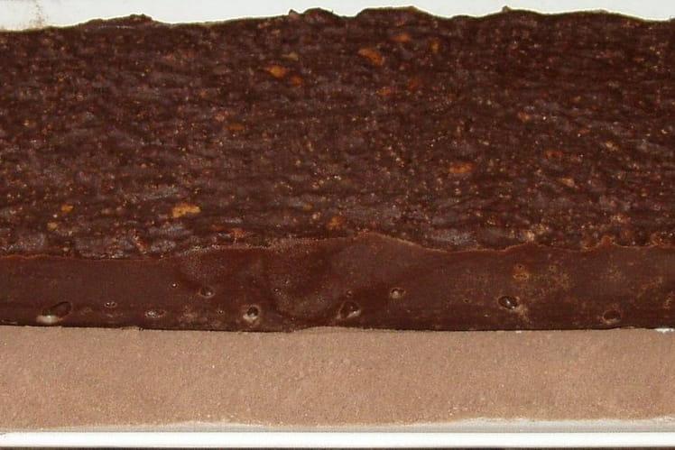 Cake au chocolat croustillant